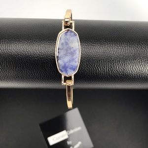 Jewelry - 💥NEW💥 Oval Sapphire Blue Natural Bangle Cuff